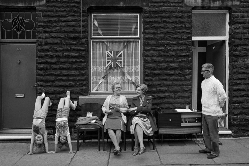 GB. England. Leeds. Elland. Jubilee Celebrations. Street Parties. 1977.